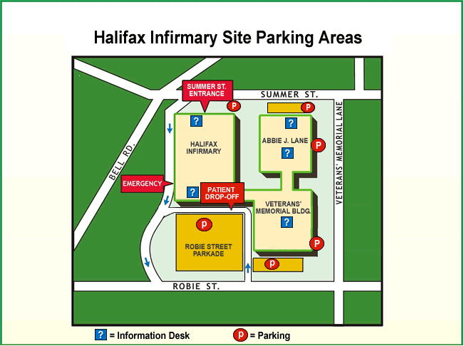 Parking at QEII - Halifax Infirmary